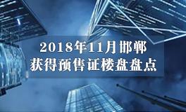 11月邯郸新出预售证公示 当属东区项目最多