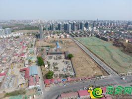 翠湖西华府地块实景图(2018.4.11)