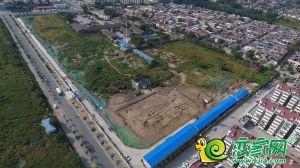 翠湖西华府地块实景图(2018.9.24)