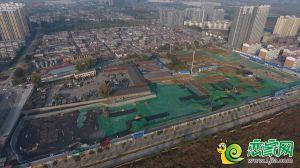 翠湖西华府地块实景图(2018.11.10)