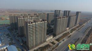万浩红玺城航拍图(2018.12.24)