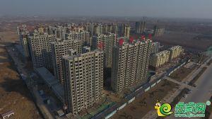 未來城工地航拍實景圖(2018.12.24)