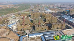 夢湖孔雀城城航拍圖(2018.12.27)