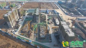 夢湖孔雀城1.2期航拍圖(2018.12.27)