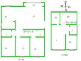 连城别苑可园 4室 3厅 197平米