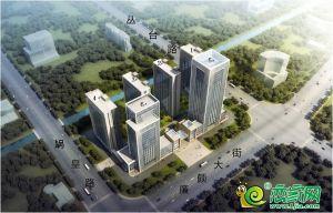 东悦城鸟瞰图