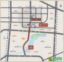 永洋绿城·诚园区位图