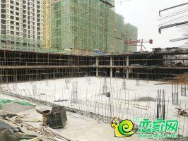 榮科家苑工地實景圖(2019.2.24)