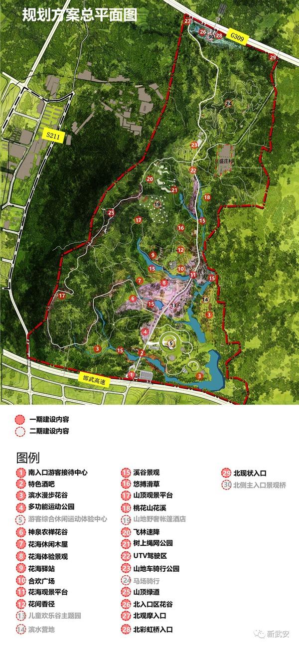 邯郸西部生态屏障之九龙山矿山生态修复公园规划