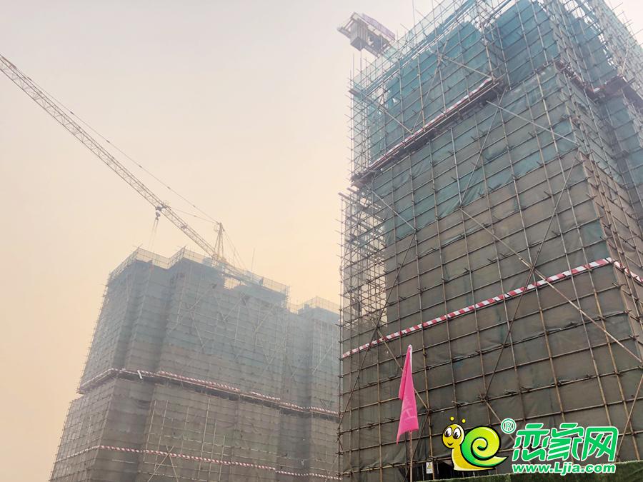 泽信·和熙府工地实景图(2019.4.3)