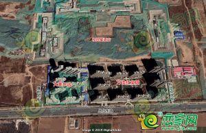 萬浩紅璽城衛星圖(2019.3.12)