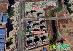 锦绣观邸卫星图(2019.3.12)
