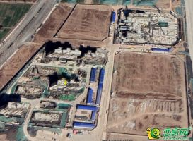 夢湖孔雀城1.2期衛星圖(2019.3.12)