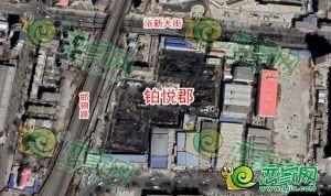 鉑悅郡衛星圖(2019.3.12)