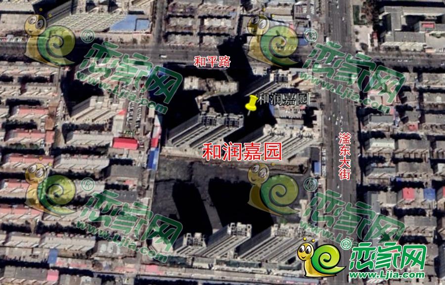 和润嘉园卫星图(2019.3.12)