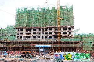 國瑞瑞城6#工地實景圖(2019.05.13)