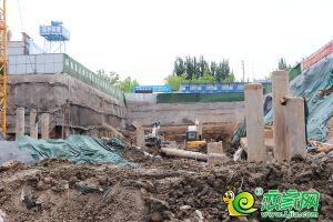 國瑞瑞城8#工地實景圖(2019.05.13)