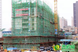 國瑞瑞城9#工地實景圖(2019.05.13)