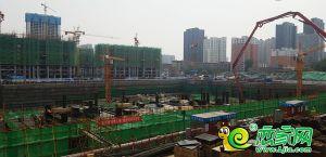 萬達廣場工地實景圖(2019.05.13)
