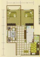 丛台区 锦江花园 7楼2室 116平米 81.2万 东南朝向