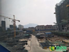 御湖天城实景图(2019.6.26)