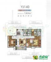 4/7/9#樓 YJ140戶型
