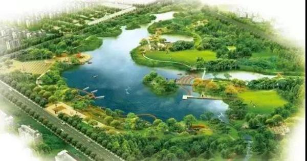 邯郸复兴湿地公园效果图