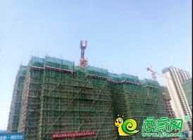 保利·堂悦工地实景图(2019.8.20)