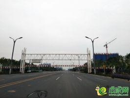 毛遂大街道路实景(2019.8.24)