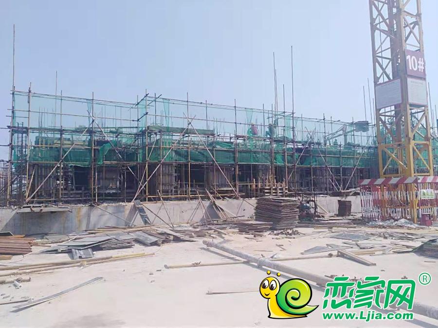 泽信·和熙府工地实景图(2019.8.20)