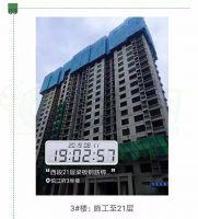 美的悦江府3号楼进度(2019.8.11)