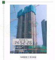 東部美的城9號樓進度(2019.8.13)