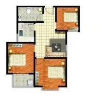 漢成華都 毛坯三居室 臨高鐵拉德芳斯美樂城 可貸款適合做婚房