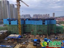 汉成华都工地实景(2019.09.13)