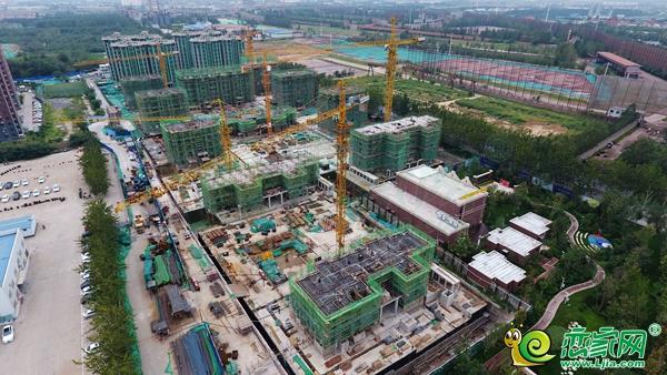 恋家追踪14期:复兴区9月最新楼盘施工航拍出炉