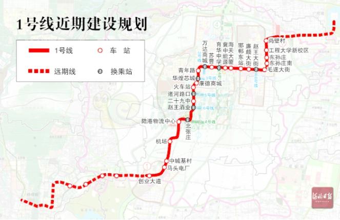 邯郸1号线规划