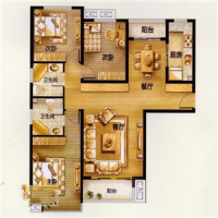 安居南程莊園 三室 全名戶型 有證可貸款 價位低