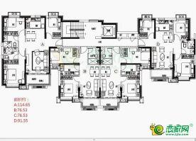 3#洋房戶型平面圖