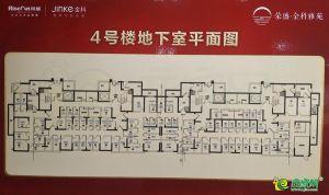 4號樓地下室平面圖