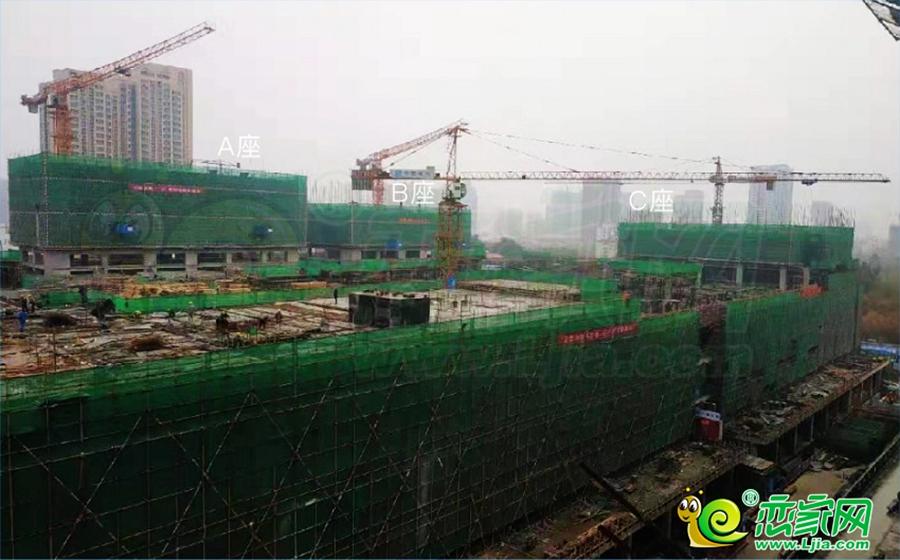 万达广场实景图(2019.11.19)