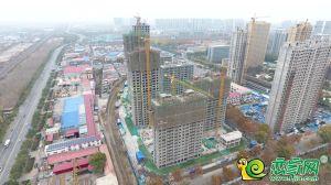 万浩繁花郡实景图(2019.11.26)