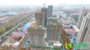 万浩大花郡实景图(2019.11.26)