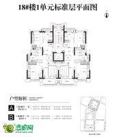 18号楼平面图