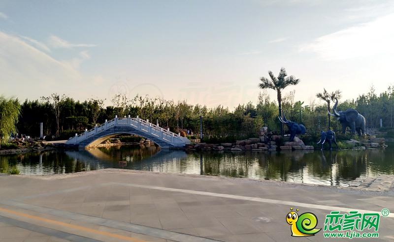 邯郸南湖公园实景图