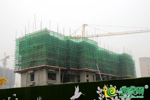 恒大御景半岛实景图(2019.12.25)