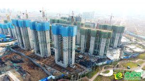梦湖孔雀城1.1航拍图(2019.12.18)