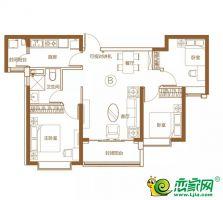 5號樓104㎡三室兩廳一衛