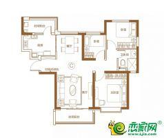 5號樓113㎡三室兩廳一衛