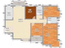 安居南城莊園 四居室精裝修 帶車位 價格不貴