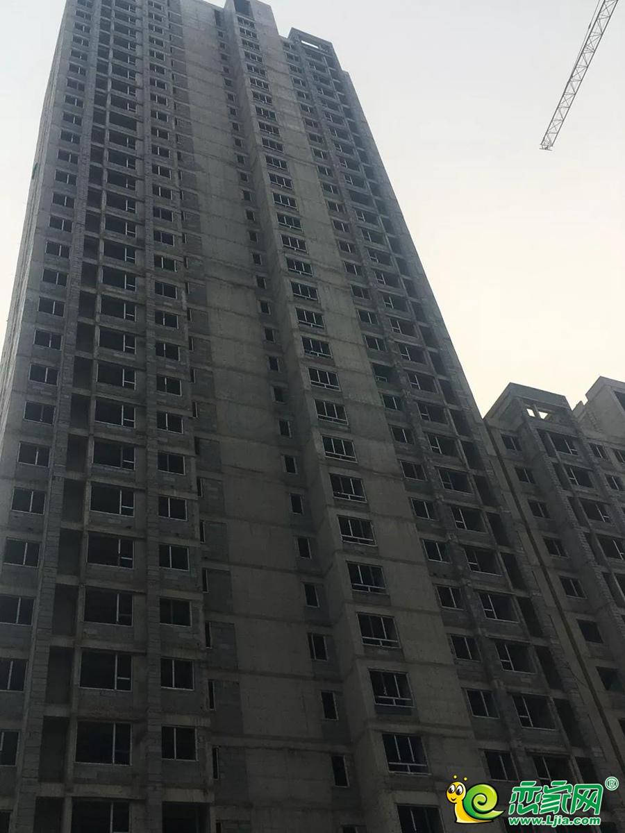 和润嘉园5号楼实景图(2020.01.13)